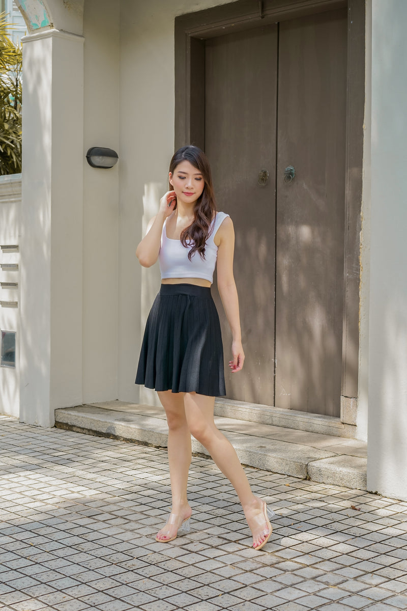 Mindy Pleated Mini Skirt