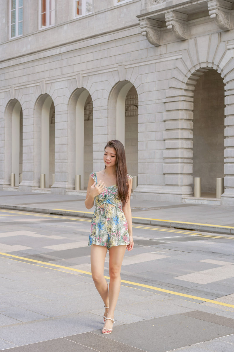 Jorina Floral Playsuit