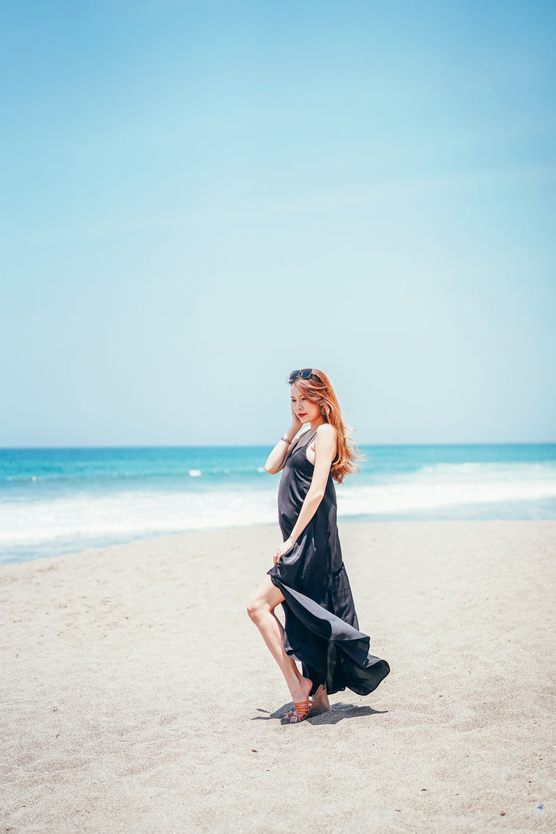Signature Maxi Dress in Black