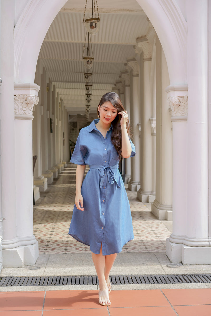 Kara Denim Shirt-dress