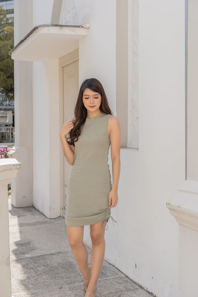 Sander Tank Dress in Seafoam