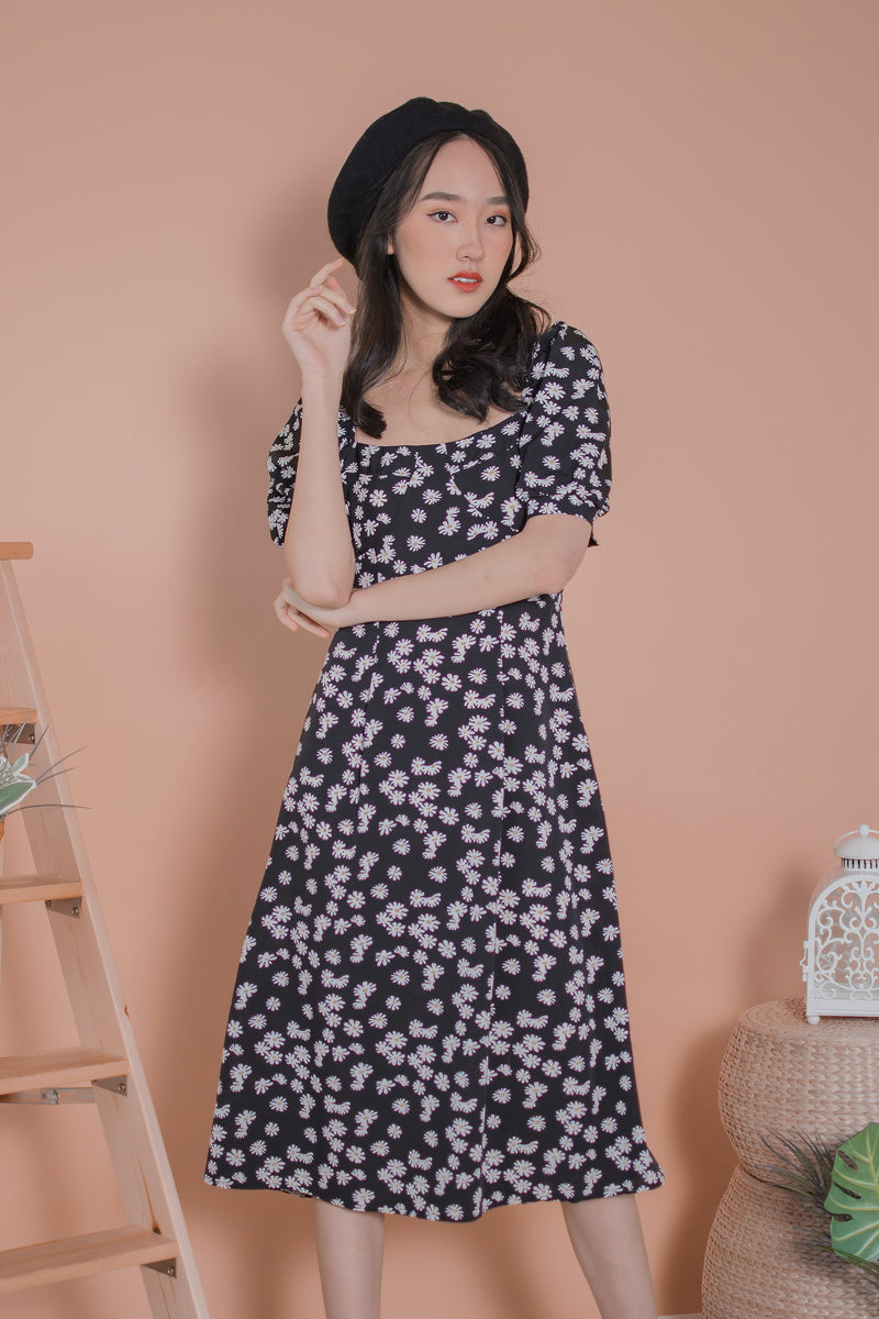 Danica Daisy Midi Dress