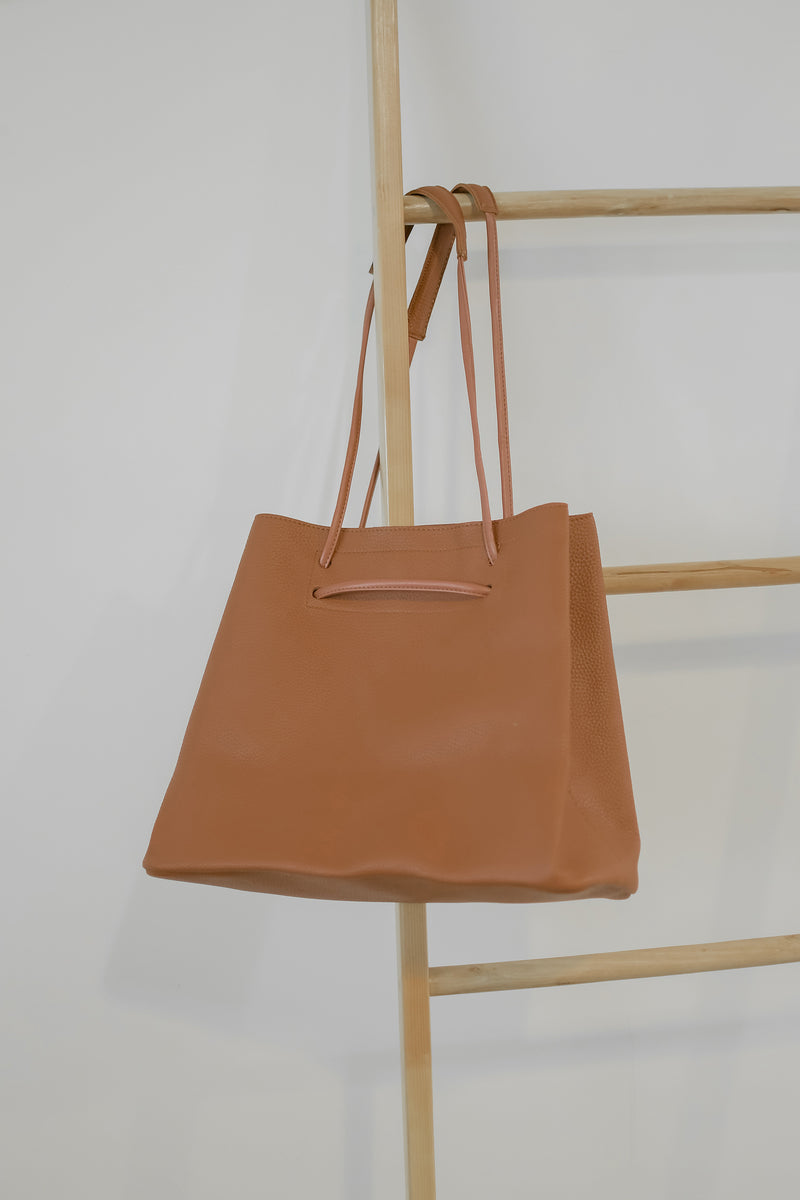 Brooke Leather Bag in Brown