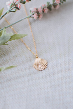 Mermaid Necklace in Gold