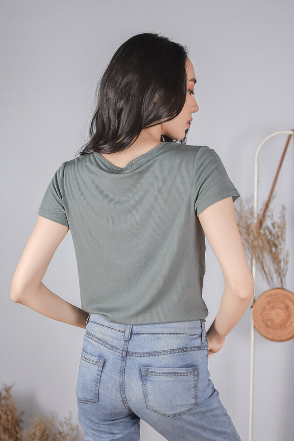 Jamie Nursing Top in Teal