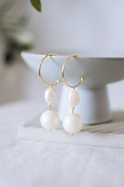 Lumine Pearl Earrings