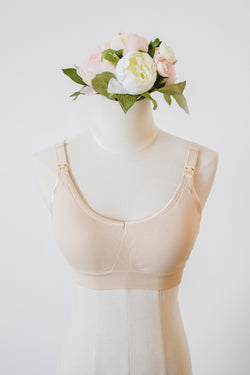 Basic Nursing Bra in Nude
