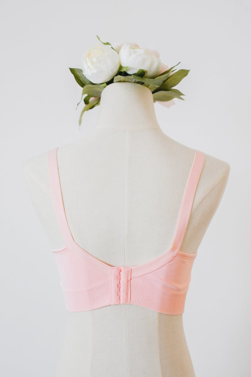 Basic Nursing Bra in Pink