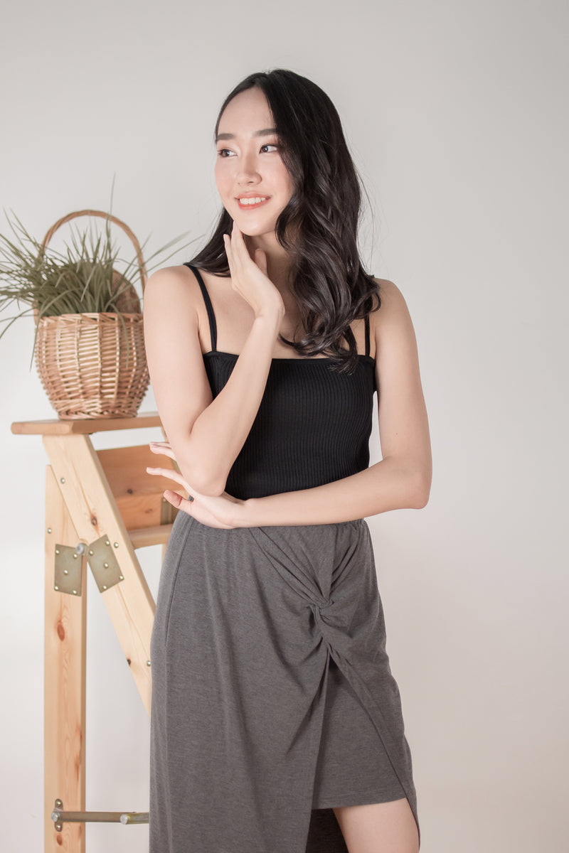 Carrie Knit Camisole in Black