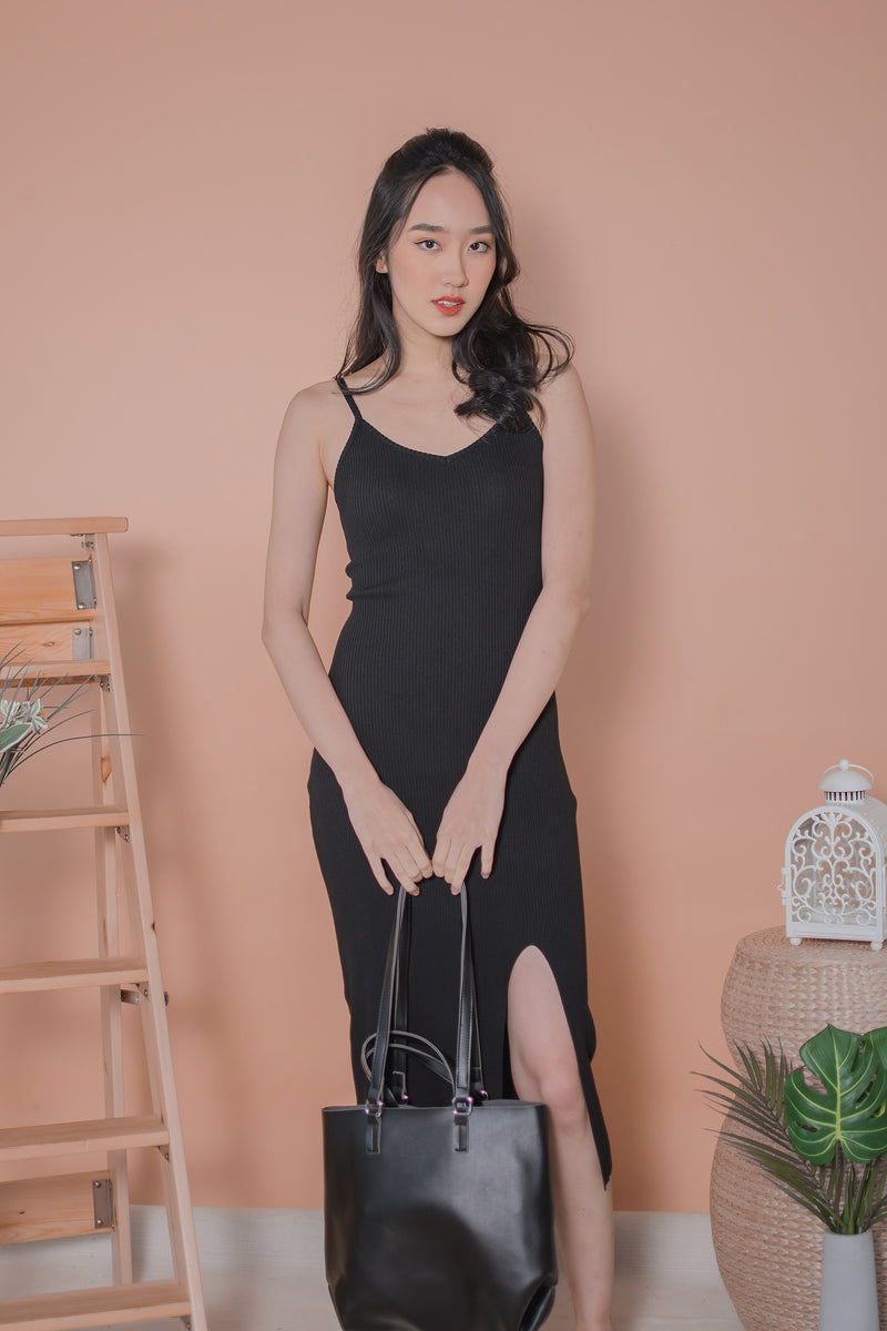Mikayle Knit Maxi in Black