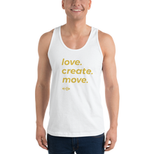 Load image into Gallery viewer, love|create|move tank top