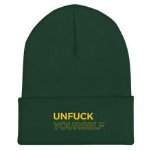 Load image into Gallery viewer, Unfuck Yourself Beanie