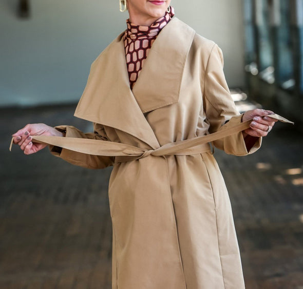 Everyone's Favorite Camel Trench - KimsKlosetKCL