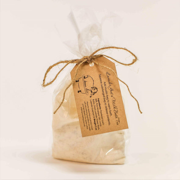 1818 Farms - Lavender Goat's Milk Bath Tea - Packet