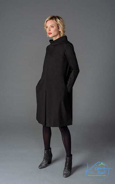 Funnel Neck Dress - KimsKlosetKCL