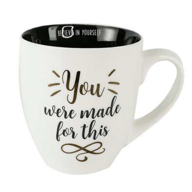 Ceramic Mug | You Were Made For This - KimsKlosetKCL