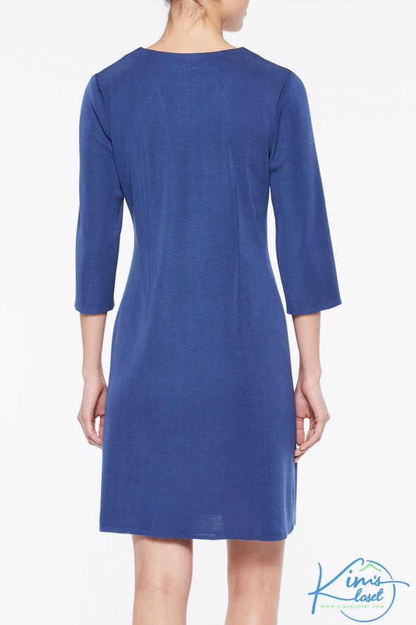 Textured Panel Knit Dress - KimsKlosetKCL