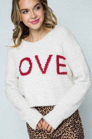 Feel the Love Sweater