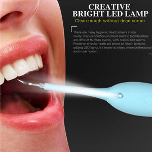 High Frequency Vibration Plaque Ultrasonic Dental Scaler Device Strong Clean Teeth Whiten Electric Health Eraser Stain Remove