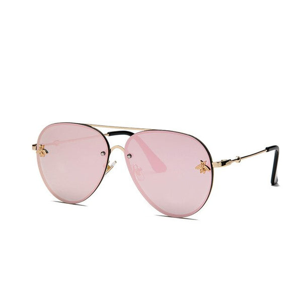 Vintage Fashion Metal Sun Glasses UV Protect