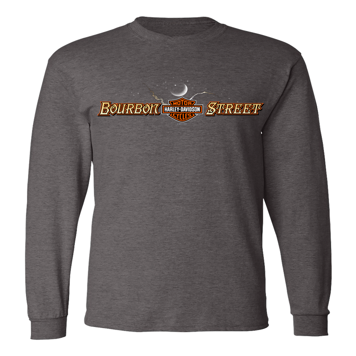 Sign, Moon, Stars Men's Long Sleeve Shirt