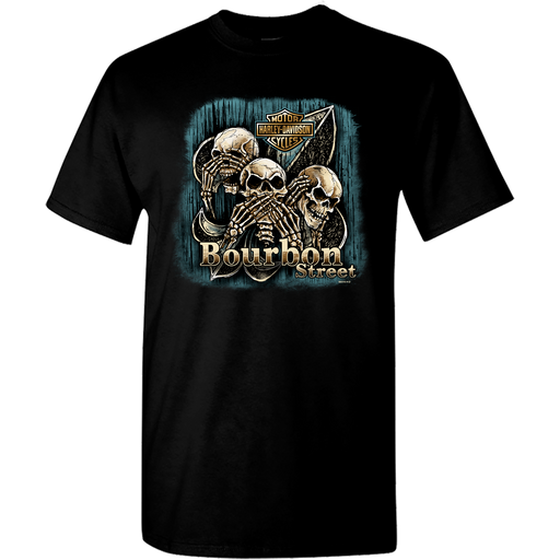 Triple Skull Men's Short Sleeve T-Shirt