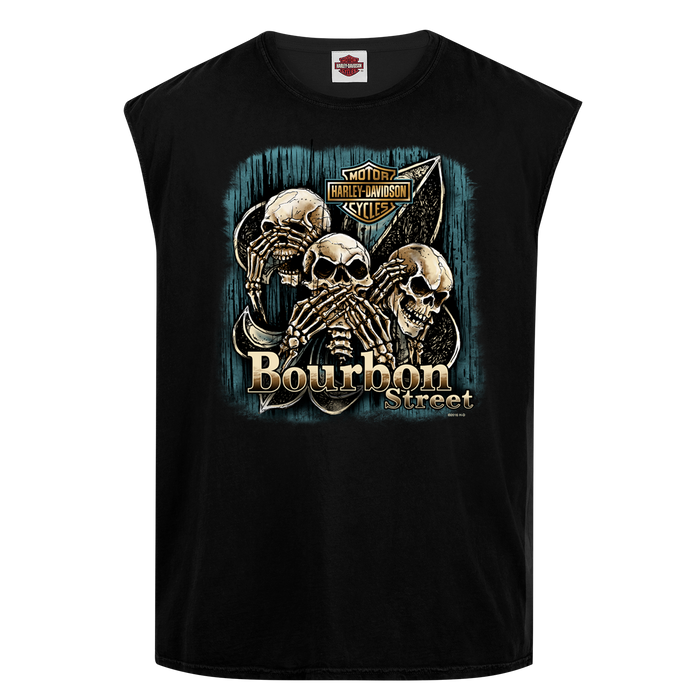Triple Skull Men's Tank Top