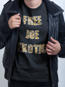 """Free Joe Exotic"" Limitied Time Only Short-Sleeve Unisex T-Shirt"