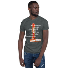 Load image into Gallery viewer, Chicago Southside Streets Unisex T-Shirt