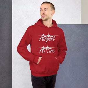 Airport Attire Hoody (various colors)
