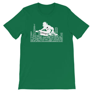 Chicago skate dj's and producer shirt (various colors)