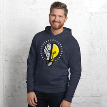 Load image into Gallery viewer, Kre8tive Jenius Lightbulb hoody (various colors)