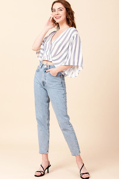 August Stripe Blouse