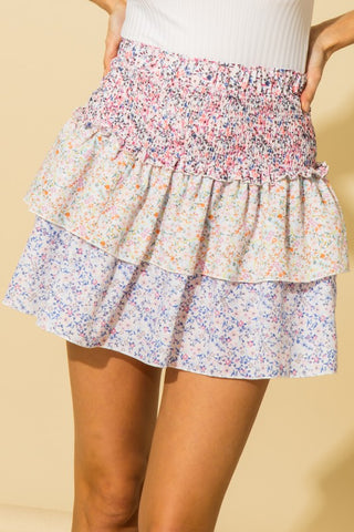 Love Shack Fanny Tiered Skirt