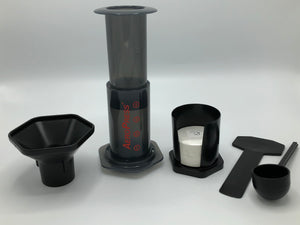 Aeropress Brewer and 350 free filters