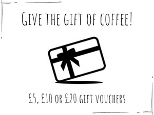Coffee Gift Voucher