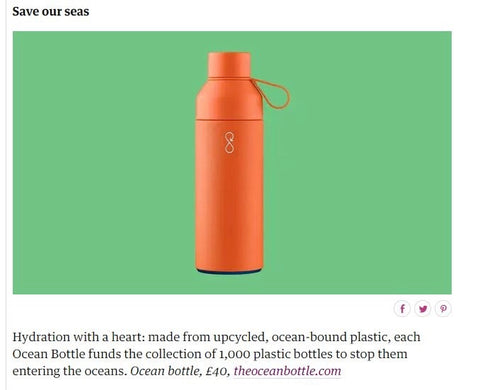 The Guardian Reusable Water Bottle