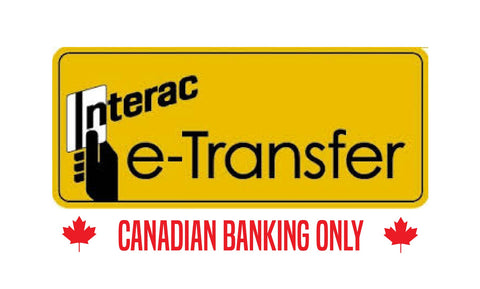 E-transfer for Canadian transactions only