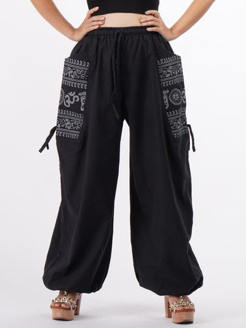 bohemian cotton pants