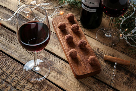 Enjoy Wine and Chocolate in Moderation