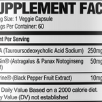 Tudca Supplement Facts