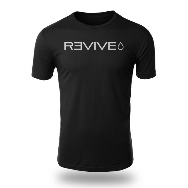 Revive Black T-shirt Experience The Difference