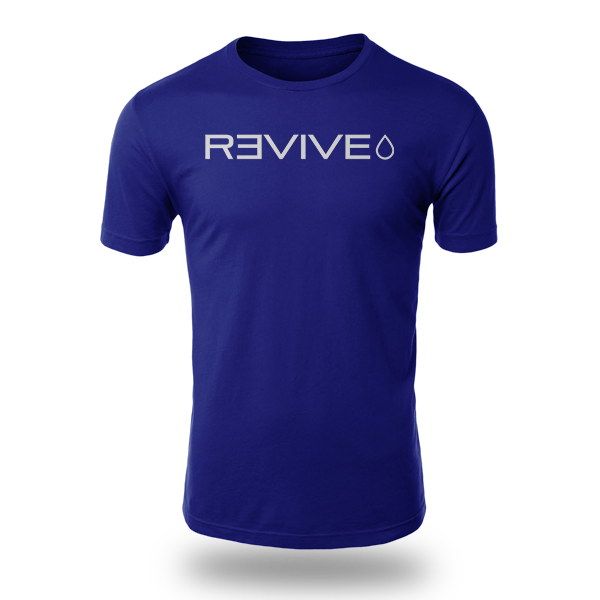 Revive Blue T-shirt Experience The Difference