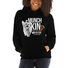 Load image into Gallery viewer, Unisex Hoodie Munchkin-White-Text (Latvian)