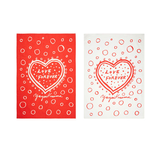 Tea Towels: Kusama Love Forever