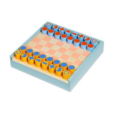 2-in-1 Chess & Checkers Set