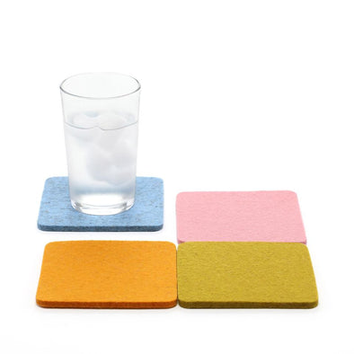 Felt Coasters: Meadow