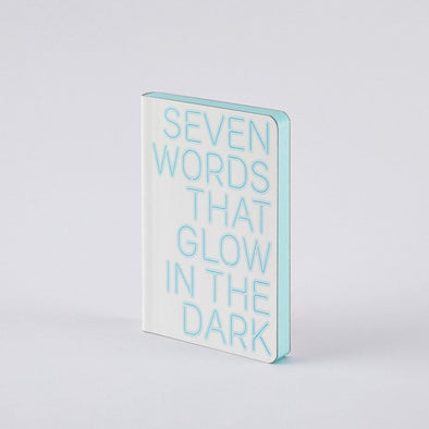 Sm Notebook: 7 Words That Glow