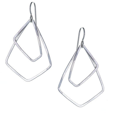 Earrings: Petite Akara Sterling Silver