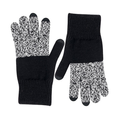 Tech Gloves: Black Marl